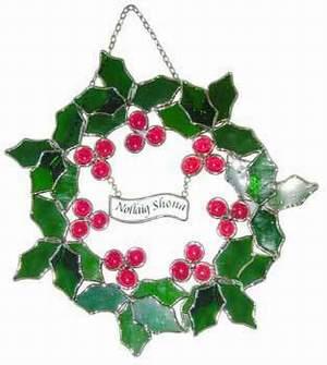Irish Christmas.Irish Christmas Wreath